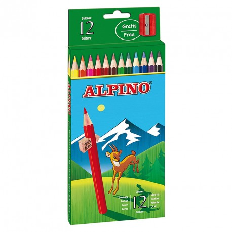 ALPINO ESTUCHE 12 LAPICES