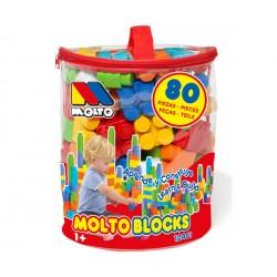 BOLSA ROSA BLOCKS 80 PCS