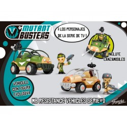 MUTANT BUSTERS VEHICULOS RESISTANCE