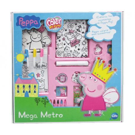 MEGA METRO COLOR ME MINE DIAMOND PEPPA PIG
