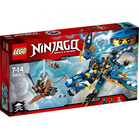 NINJAGO DRAGON ELEMENTAL DE JAY