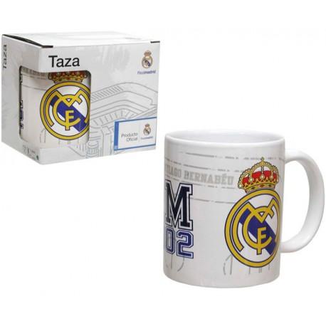 REAL MADRID TAZA 300 ML.EN CAJA