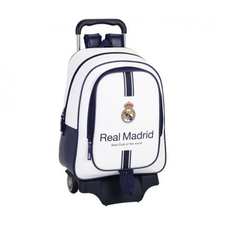 REAL MADRID 1 EQ.16-17 MOCHILA GDE C/RUEDAS