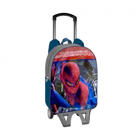 SPIDERMAN MOCHILA TROLLEY ADAPTABLE