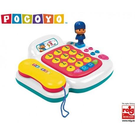 POCOYO ACTIVITY TELEFONO Y PIANO CON FIGURA