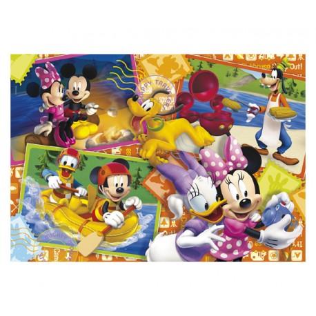 PUZZLE LA CASA DE MICKEY MOUSE POSTCARDS (60 PIEZAS)