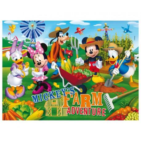 PUZZLE LA CASA DE MICKEY MOUSE FARM ADVENTURE (104 PIEZAS)