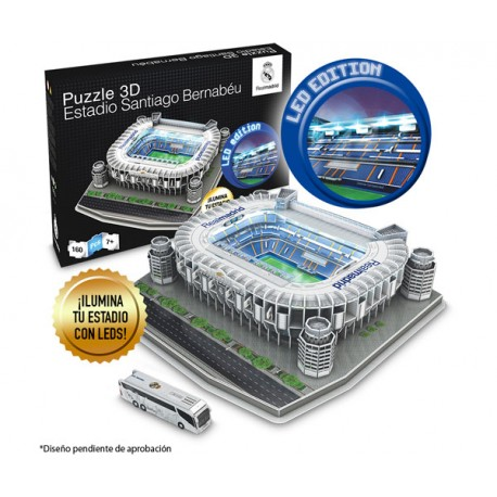NANOSTAD REAL MADRID SANTIAGO BERNABEU LED