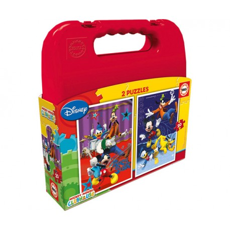 PUZZLE 2X20P MICKEY MOUSE