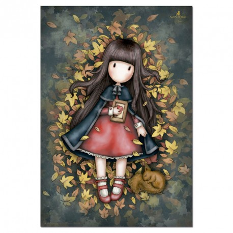 PUZZLE 1000P AUTUMN LEAVES GORJUSS