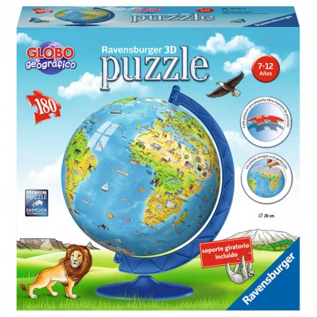 PUZZLEBALL 180P 3D GLOBO NEW EDITION