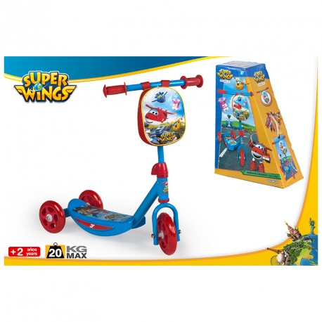 SUPER WINGS SCOOTER 3 RUEDAS