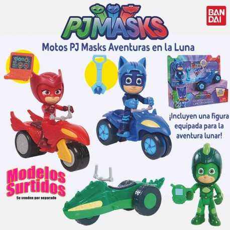 PJ MASKS MOTOS AVENTURAS EN LA LUNA