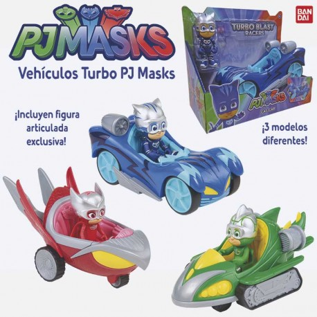 PJ MASKS VEHICULOS DELUXE