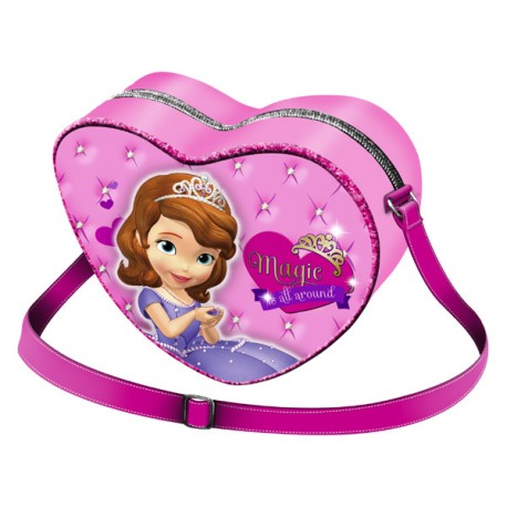 LA PRINCESA SOFIA MAGIC BOLSO MODA CORAZON