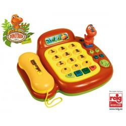 DINOTREN TELEFONO MUSICAL CON FIGURAS