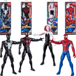 SPIDERMAN FIGURAS TITAN WEB WARRIORS