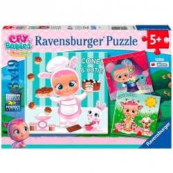 PUZZLE 3X49P CRY BABIES