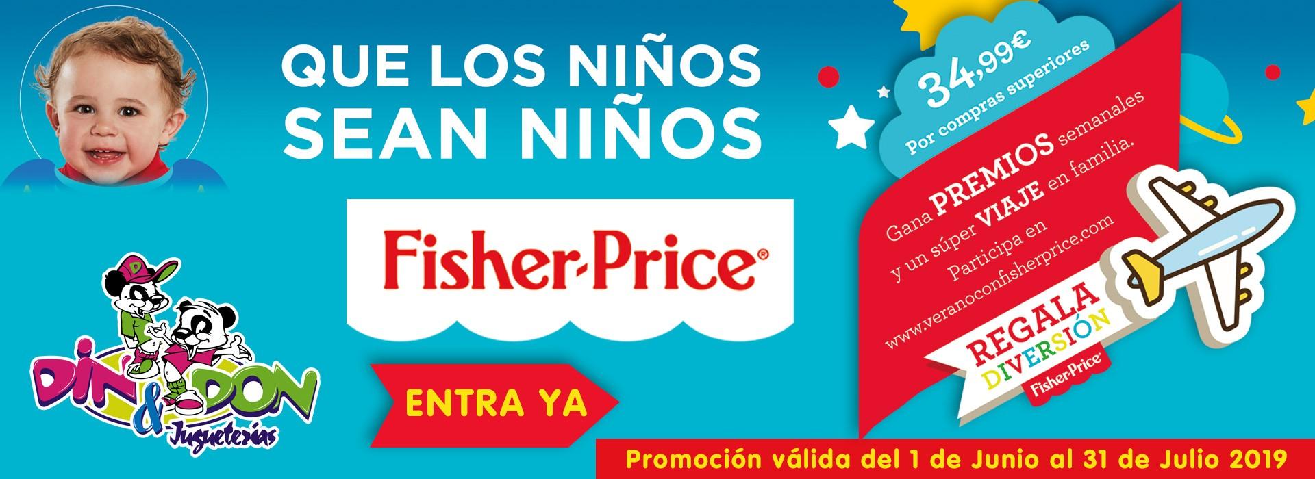 PROMOCIÓN FISHER PRICE VERANO